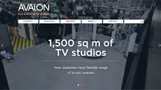 Avalon Film & Television Studios website