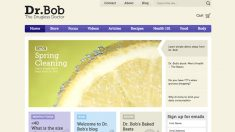 Dr. Bob website and online store