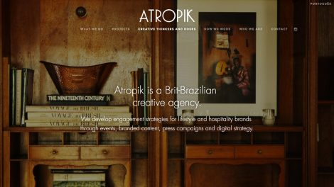 Atropik website
