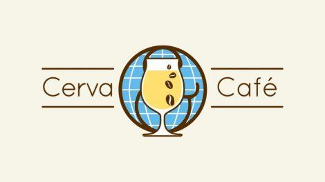 Cerva & Café identity