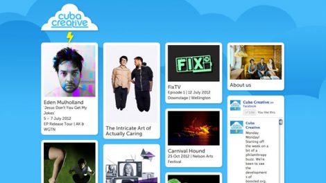 Cuba Creative website