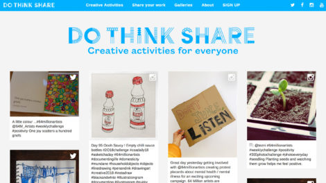 Do Think Share website
