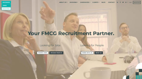 Mackenzie Jones Recruitment website