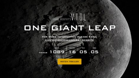 One Giant Leap - Landing page