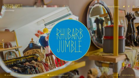 Rhubarb Jumble website