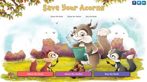 Save Your Acorns website