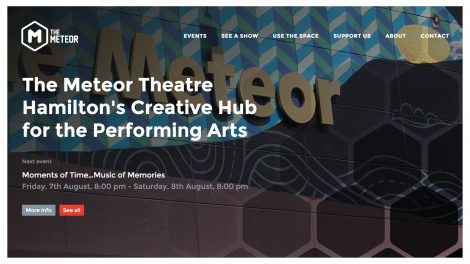 The Meteor Theatre website