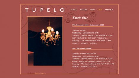 Tupelo website