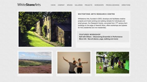 Whitestone Arts website